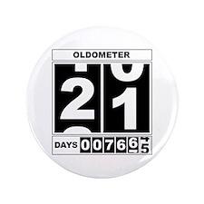 """21st Birthday Oldometer 3.5"""" Button"""