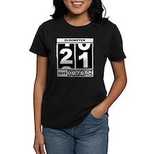 21st Birthday Oldometer Tee