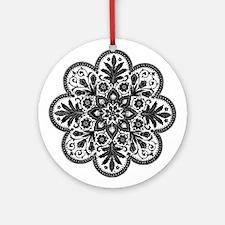 Bohemian Daisy - Ornament (Round)