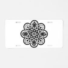 Bohemian Daisy - Aluminum License Plate