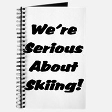 We're Serious About Skiing Journal