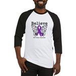 Believe GIST Cancer Baseball Jersey