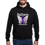 Believe GIST Cancer Hoodie (dark)