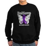 Believe GIST Cancer Sweatshirt (dark)