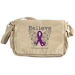 Believe GIST Cancer Messenger Bag