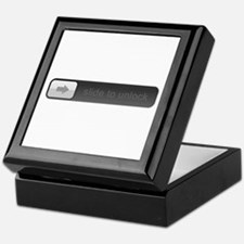 Slide to unlock Keepsake Box