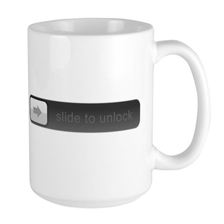 Slide to unlock Large Mug