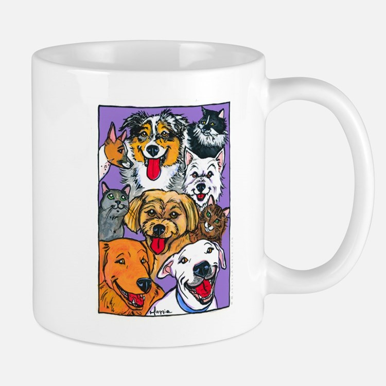Furry Family Mug