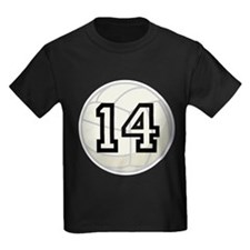Volleyball Player Number 14 T