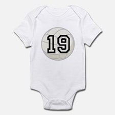 Volleyball Player Number 19 Infant Bodysuit