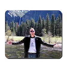 Guy DeWhitney in Yosemite Mousepad