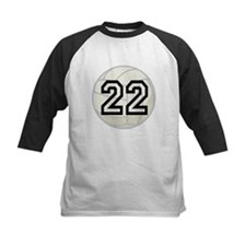 Volleyball Player Number 22 Tee