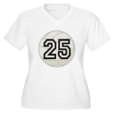 Volleyball Player Number 25 T-Shirt