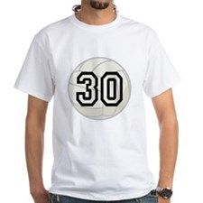 Volleyball Player Number 30 Shirt