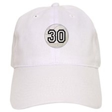 Volleyball Player Number 30 Baseball Cap
