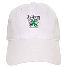 Believe Liver Cancer Baseball Cap