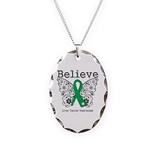 Believe Liver Cancer Necklace
