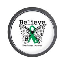 Believe Liver Cancer Wall Clock