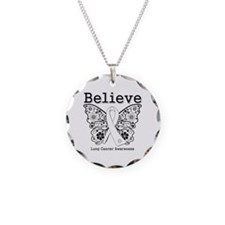 Believe Lung Cancer Necklace