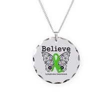 Believe Lymphoma Necklace