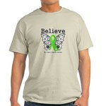 Believe Non-Hodgkins Lymphoma Light T-Shirt