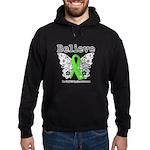 Believe Non-Hodgkins Lymphoma Hoodie (dark)