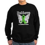 Believe Non-Hodgkins Lymphoma Sweatshirt (dark)