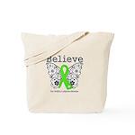 Believe Non-Hodgkins Lymphoma Tote Bag