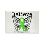 Believe Non-Hodgkins Lymphoma Rectangle Magnet (10