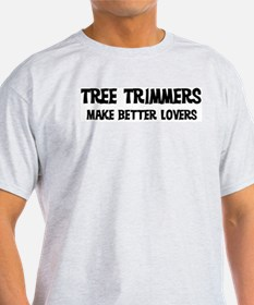 Tree Trimmers: Better Lovers Ash Grey T-Shirt