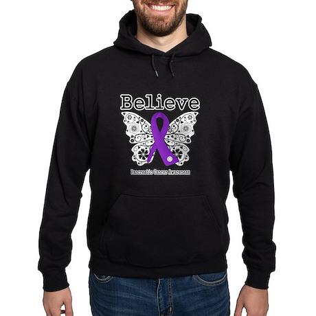 Believe Pancreatic Cancer Hoodie (dark)