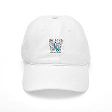 Believe Thyroid Cancer Baseball Cap