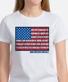 Pledge of Allegiance Women's T-Shirt