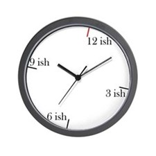Lately Wall Clock