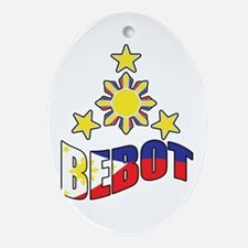Bebot Ornament (Oval)