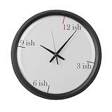 Fashionably late Giant Clocks