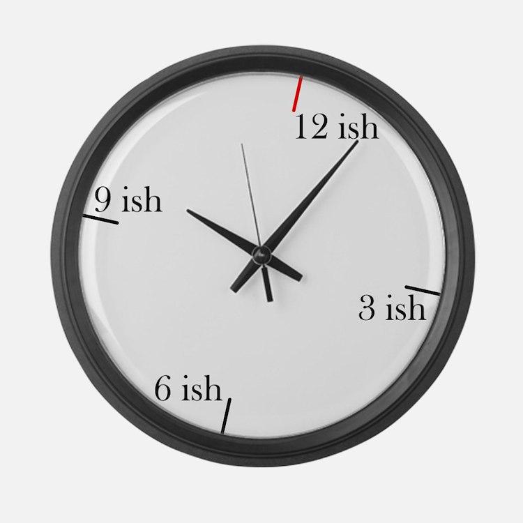 Fashionable Late Large Wall Clock