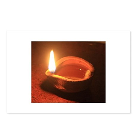 Ancient Oil Lamp Postcards (Package of 8)