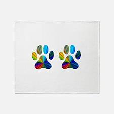 2 PAWS Throw Blanket