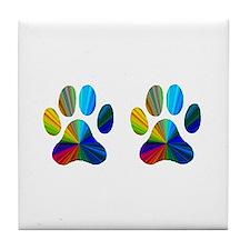 2 PAWS Tile Coaster