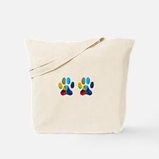 2 PAWS Tote Bag