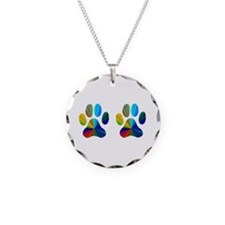 2 PAWS Necklace