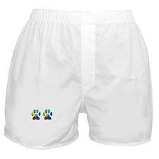 2 PAWS Boxer Shorts