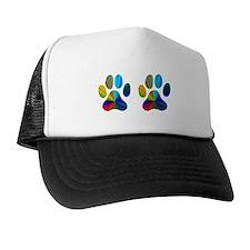 2 PAWS Trucker Hat