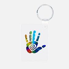 Massage Hand Keychains