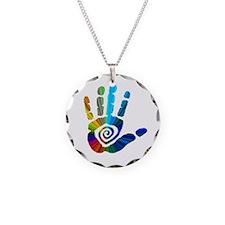 Massage Hand Necklace
