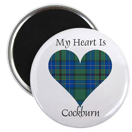 "Heart - Cockburn 2.25"" Magnet (10 pack)"