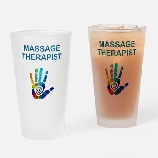 MASSAGE THERAPIST Drinking Glass