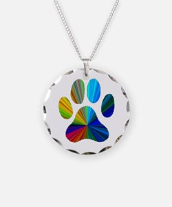 Funny Animal tracks Necklace