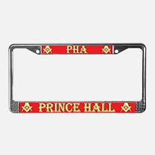PHA License Plate Frame - Red